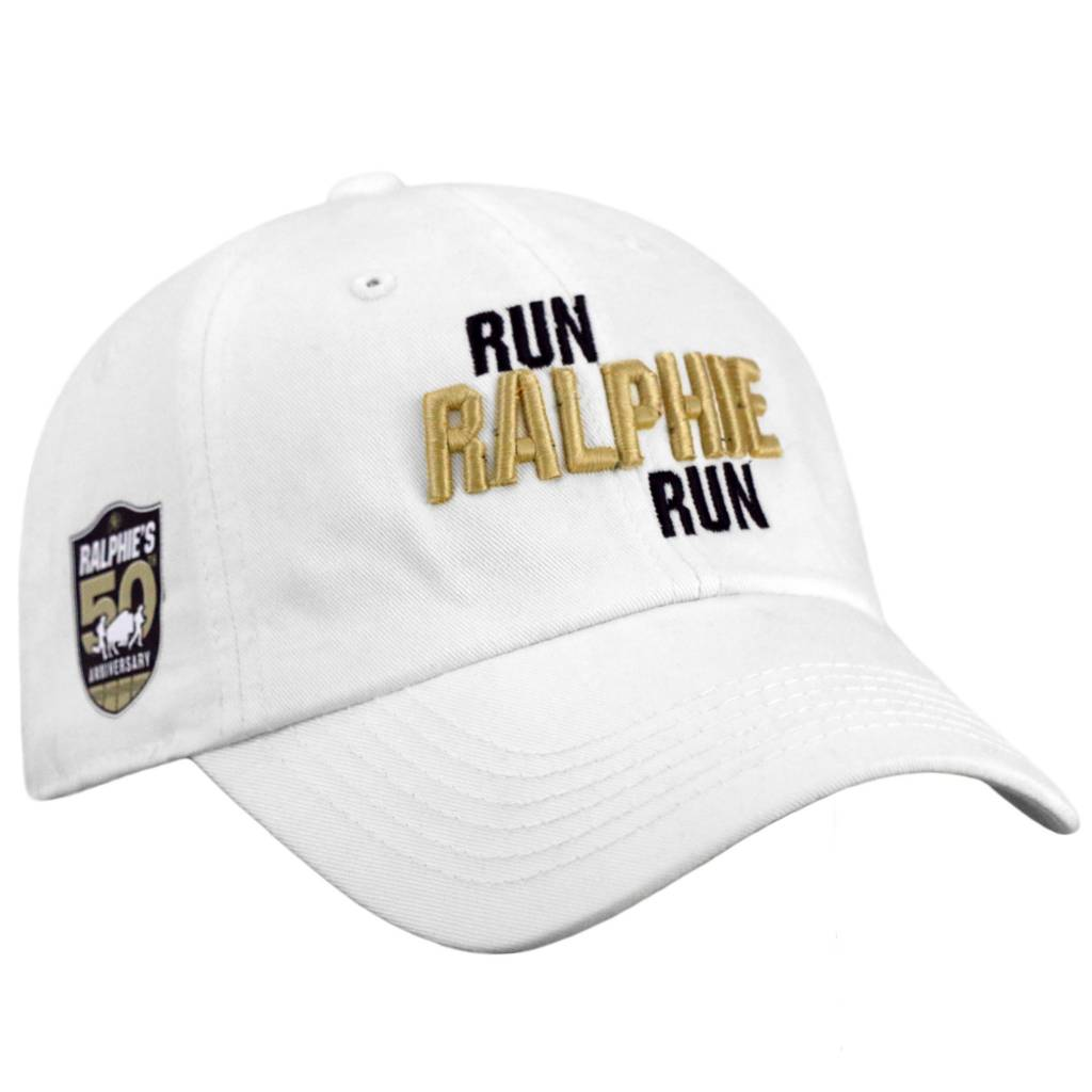 TOP OF THE WORLD RUN RALPHIE RUN WHITE HAT