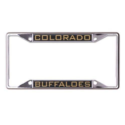 COLORADO BUFFALOES LICENSE PLATE FRAME