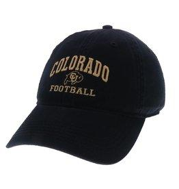 LEGACY BLACK COLORADO FOOTBALL EZA HAT