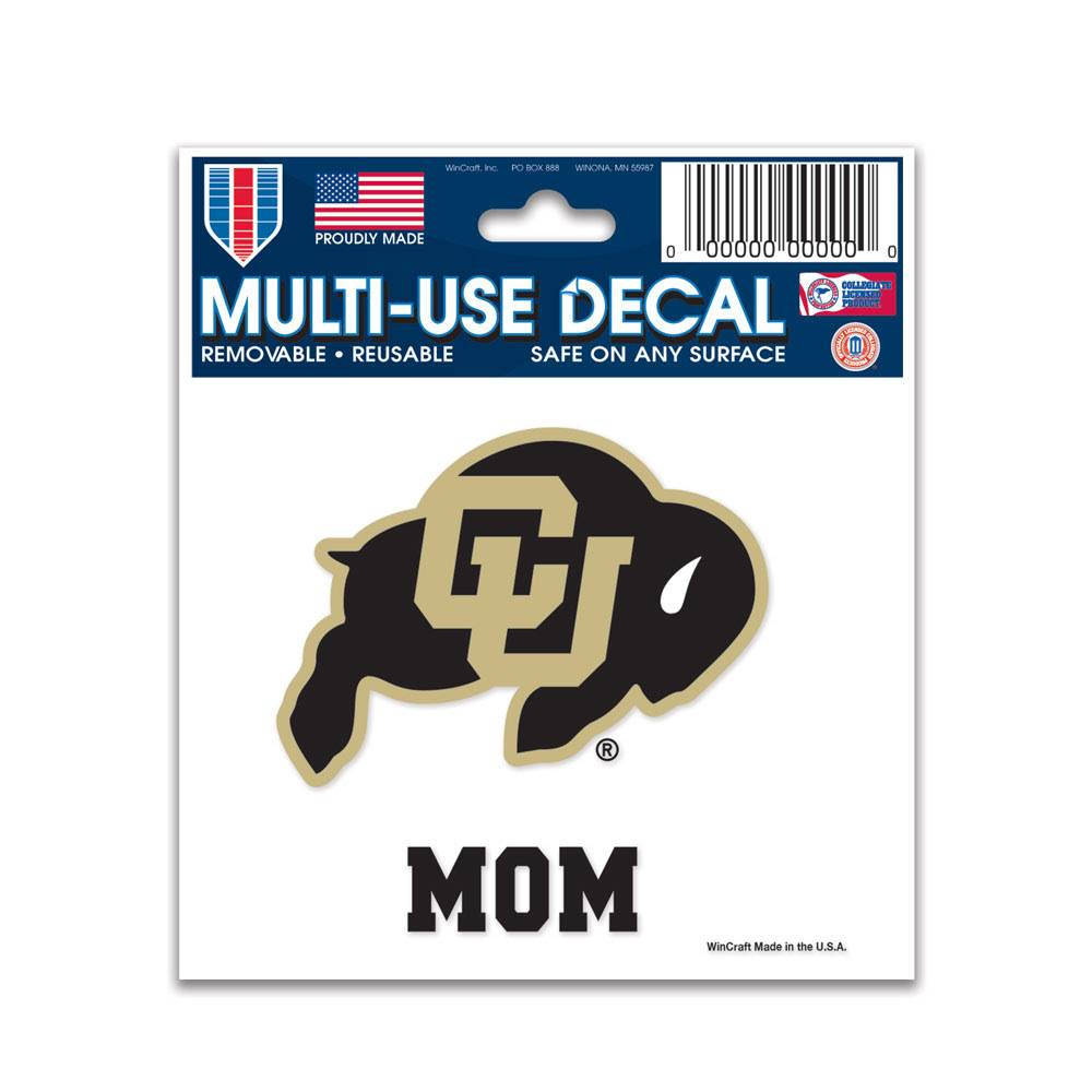 "CU MOM 3"" X 4"" MULTI USE DECAL"