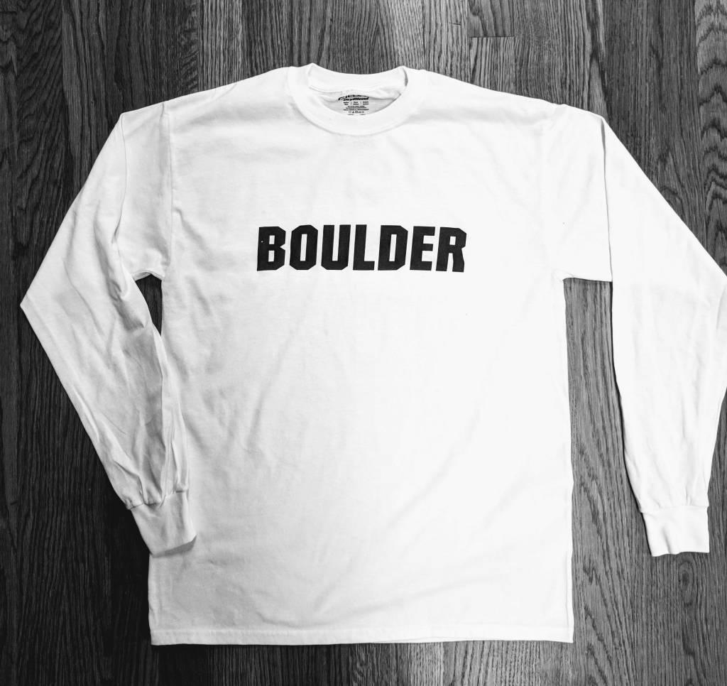 COTTON BOULDER STRAIGHT LS TEE