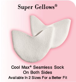 Pillows for Pointe SUPG-Super Gellows Toe Pads