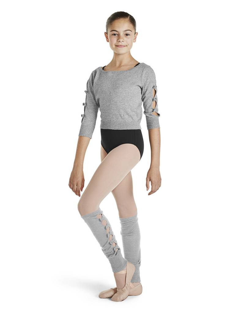 Bloch/Mirella CW1140 - Bow Detail Leg Warmers