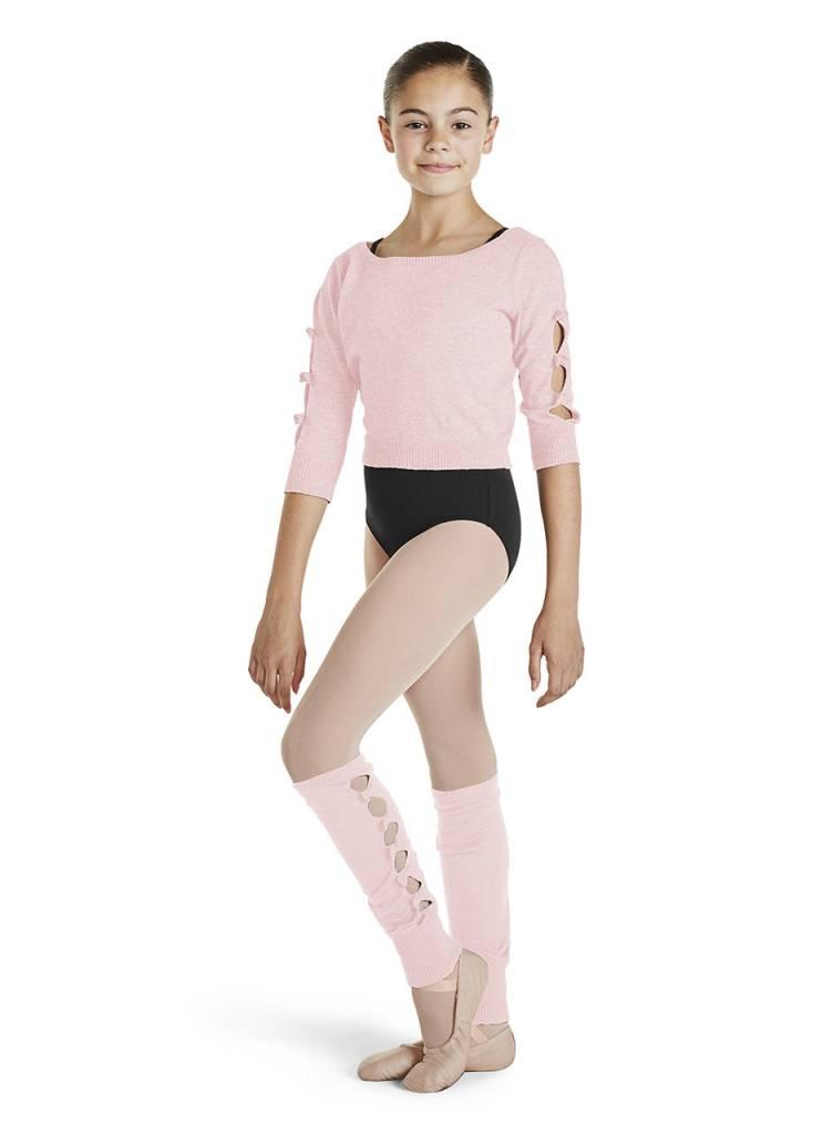 Bloch, Mirella CZ1126 - Bow Detail Crop Sweater