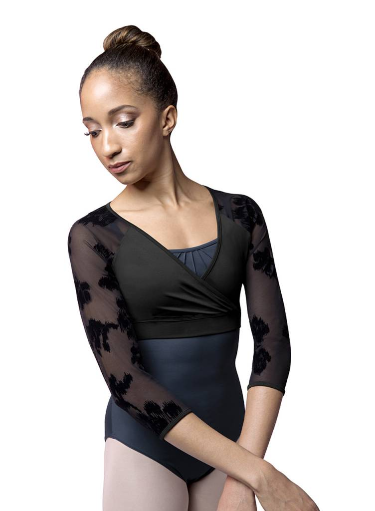 Bloch/Mirella M1012LM-Flocked Mesh Top