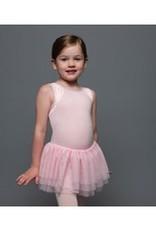 MotionWear MW4082-Mesh Inset Tutu Dress