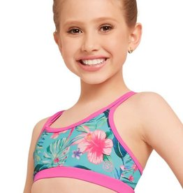 TCR132 Tropical Crop Top
