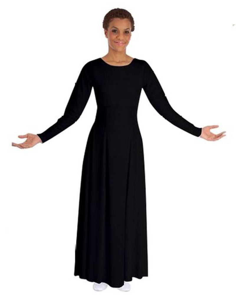 Basic Moves BM9122A - Long Sleeve Dress- Adult