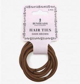 Capezio & Bunheads BH1510-Hair Elastics - DARK BROWN