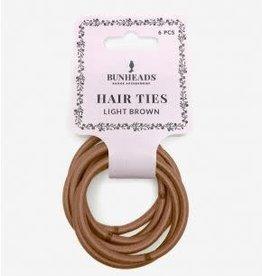 Capezio & Bunheads BH1509-Hair Elastics - LIGHT BROWN