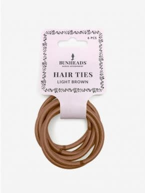 Capezio & Bunheads BH1509-Hair Elastics - LIGHT BROWN