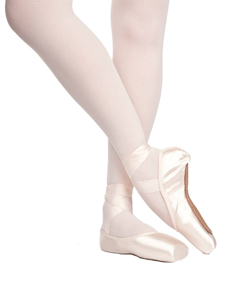 "Russian Pointe Size 40: Rubin ""Ruby"" U-Cut with Drawstring"