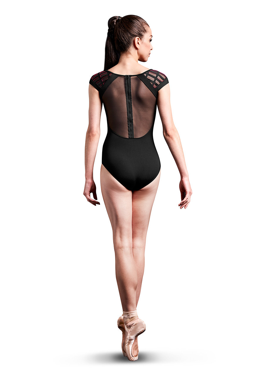 Bloch, Mirella MJ7207- Zip Back Cap Slv Leo