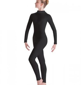 MotionWear MotionWear Long Sleeve Unitard with Mock-T Zip Back
