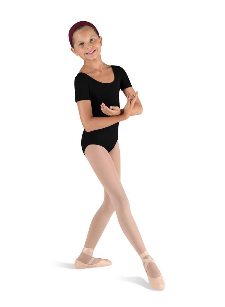 Bloch & Mirella CL5402: Bloch Girls' Basic Short Sleeve Leotard