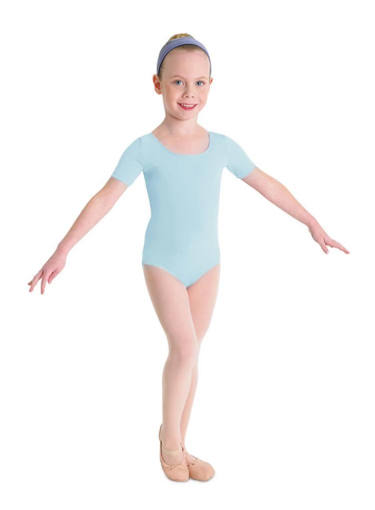 Bloch, Mirella CL5402: Bloch Girls' Basic Short Sleeve Leotard