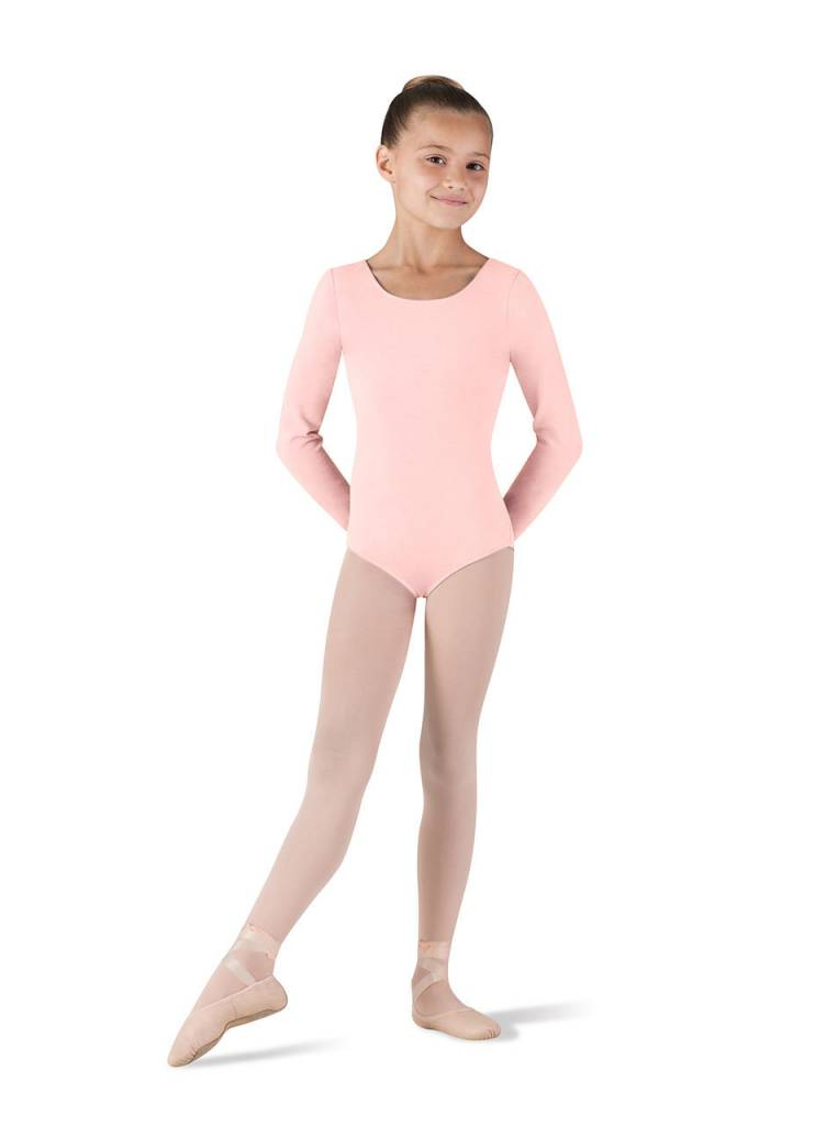 Bloch, Mirella CL5409: Bloch Girls' Basic Long Sleeve Leotard