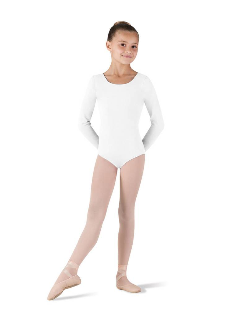 Bloch/Mirella CL5409: Bloch Girls' Basic Long Sleeve Leotard