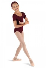Bloch, Mirella, Leo, Dance Now CL5402: Bloch Girls' Basic Short Sleeve Leotard