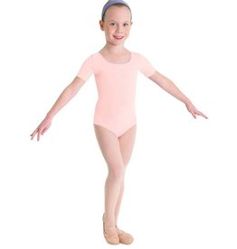 Bloch, Mirella, Leo, Dance Now Bloch Basic Short Sleeve Leotard