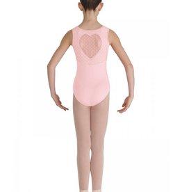 Bloch, Mirella, Leo, Dance Now Bloch Miame Heart Mesh Tank Leotard