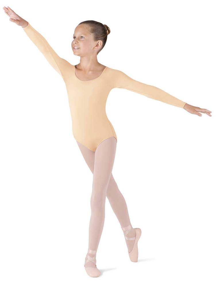 Bloch, Mirella, Leo, Dance Now CL5609: Bloch Girls' Meglio Long Sleeve Leotard