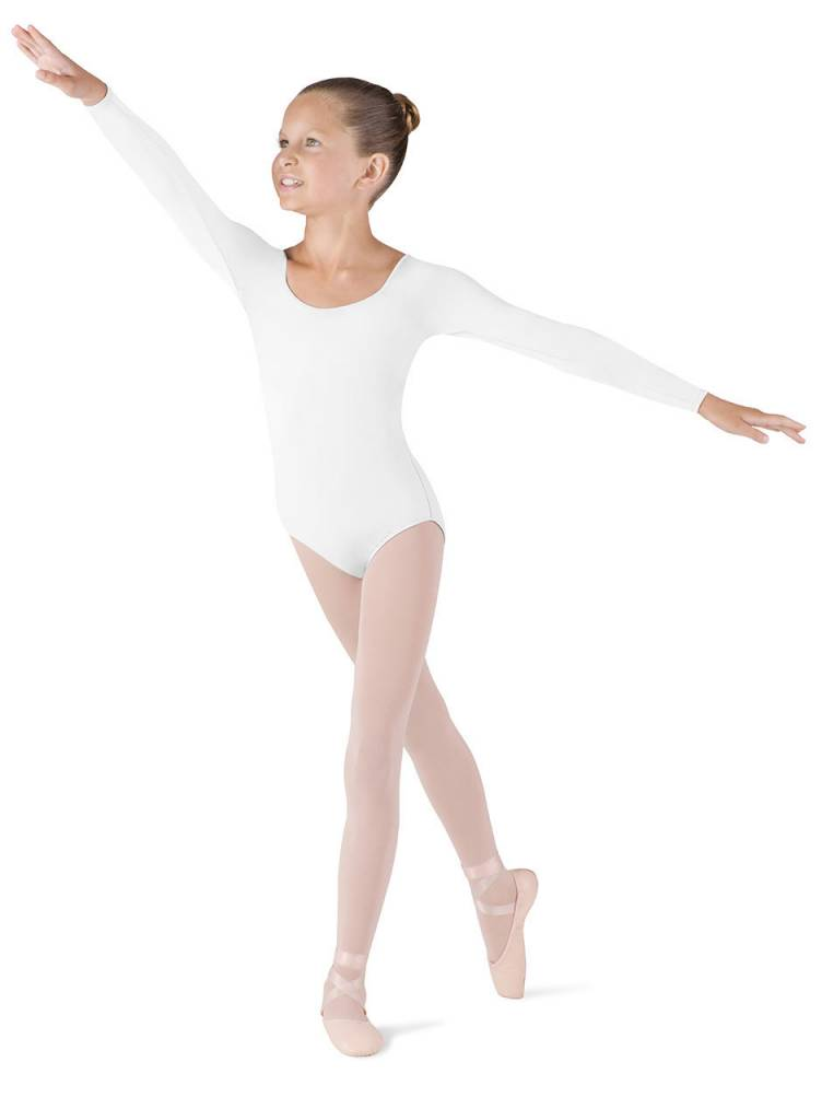 Bloch & Mirella CL5609: Bloch Girls' Meglio Long Sleeve Leotard