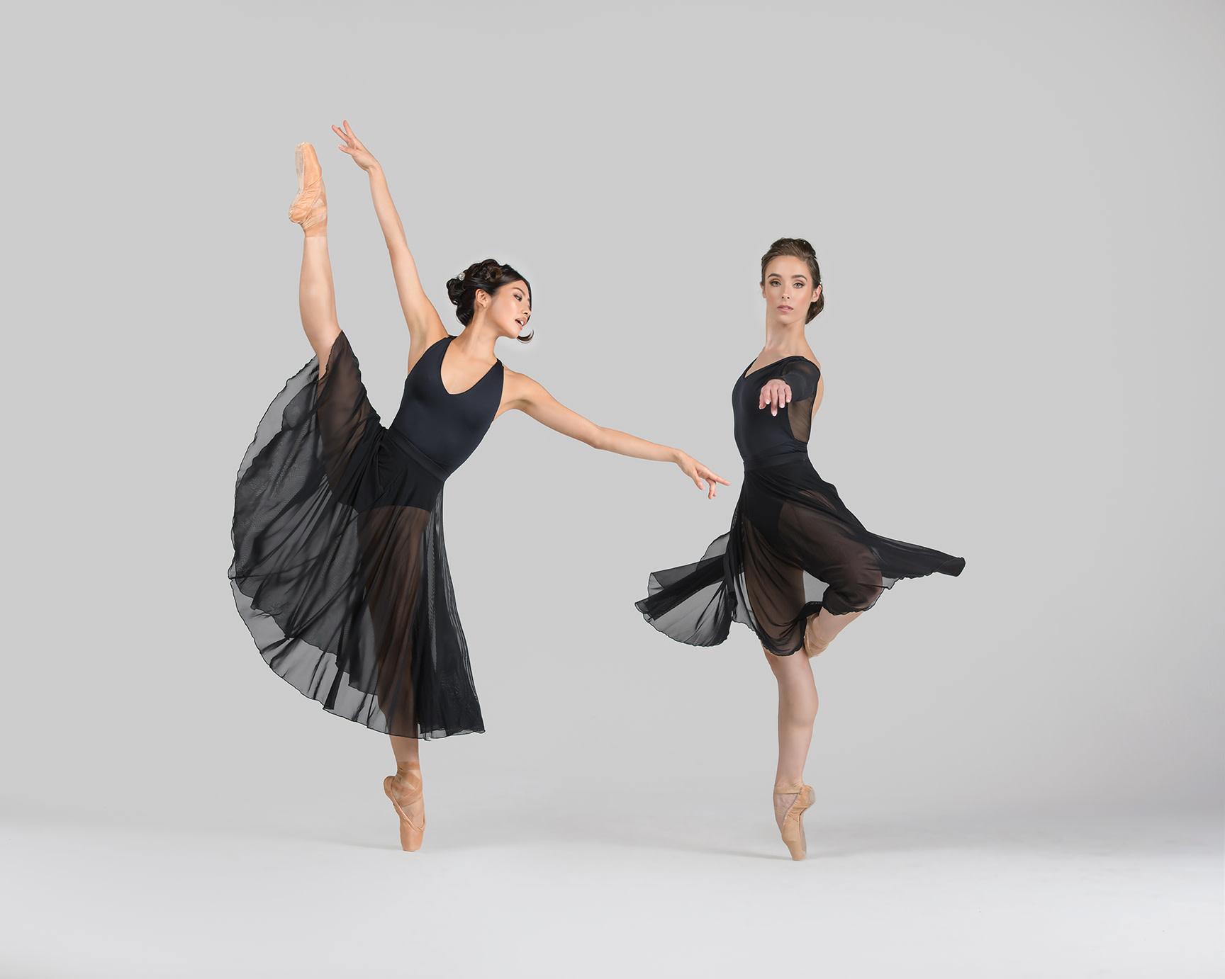 Ballet Rosa Faith-Pull On Long Skirt