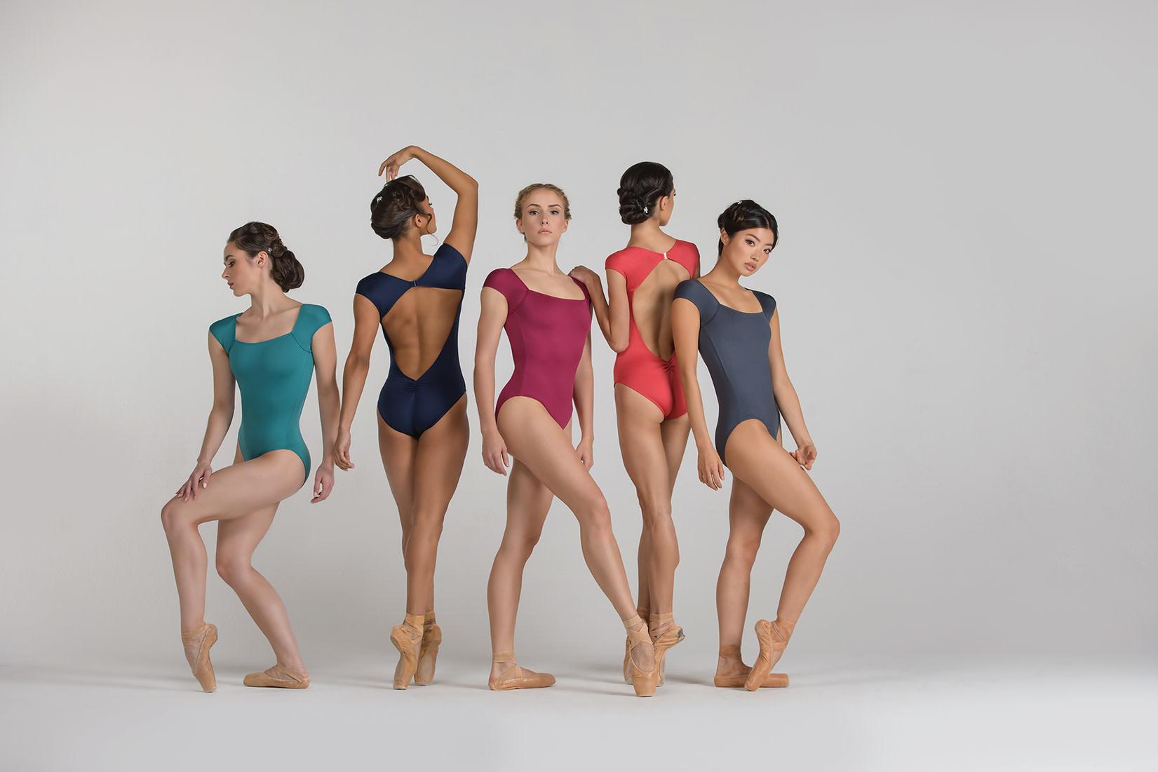 Ballet Rosa Antonella-Cap Sleev Leo