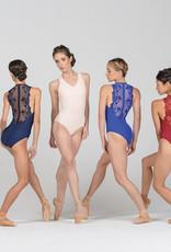 Ballet Rosa Esther-Pinch Fr Zip Back Leo
