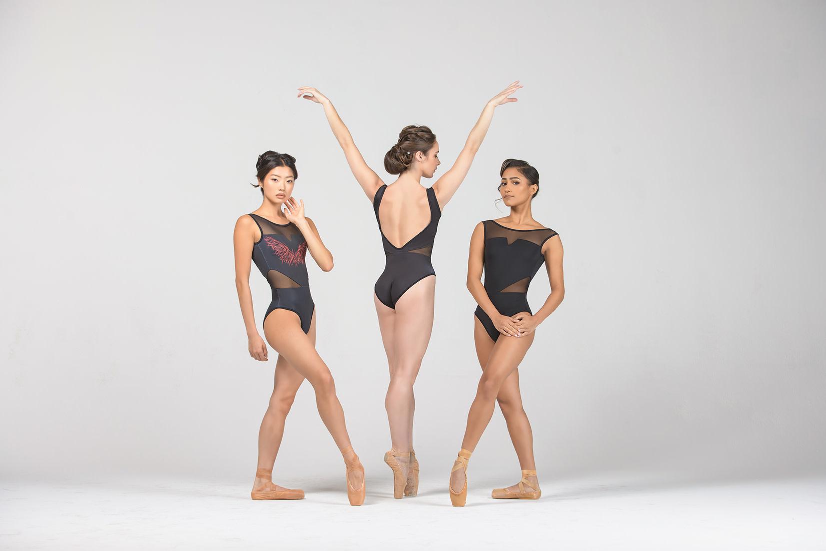 Ballet Rosa Morgane-Reverse Tank