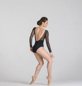 Ballet Rosa Shirley-V Fr Pleate Shoulder Leo