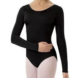 Bloch, Mirella, Leo, Dance Now L5409: Bloch Premier Long Sleeve Leotard
