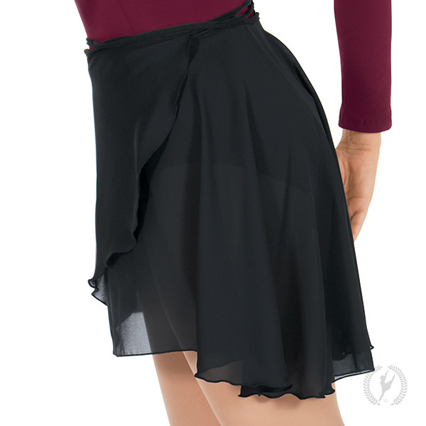 """Eurotard 10126P/ Plus 19"""" Wrap Skirt"""