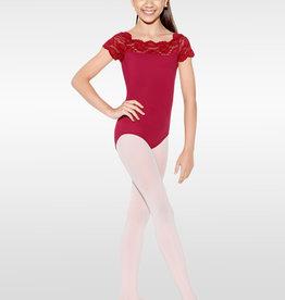 So Danca SL17- Tilly-Lace Cap Slv Leo
