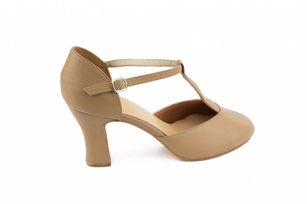 "So Danca So Danca CH99:  Leather T-Strap 3""Heel Character Shoe"