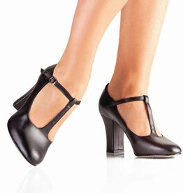 """So Danca So Danca 3"""" Broad Heel T-Strap"""