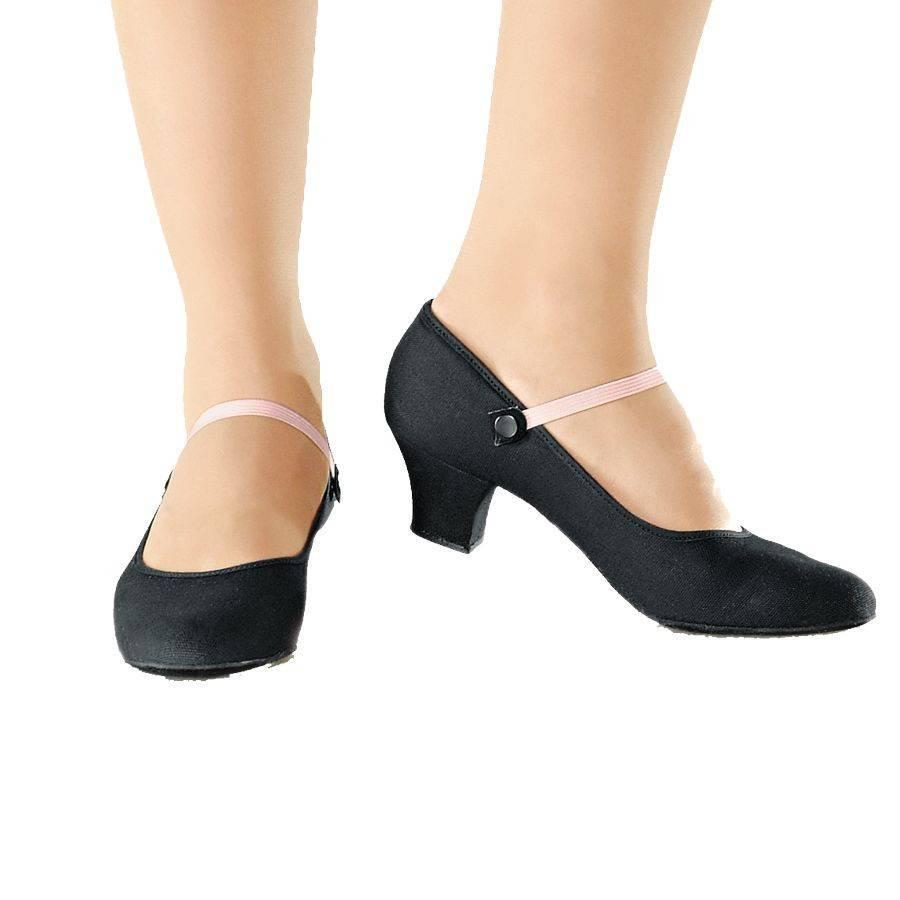 """So Danca So Danca RO02:  Canvas 1.5"""" Heel Character Shoe"""
