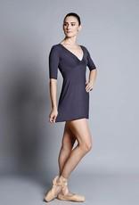 Ballet Rosa TOSHIMI-Bamboo Vneck Dress