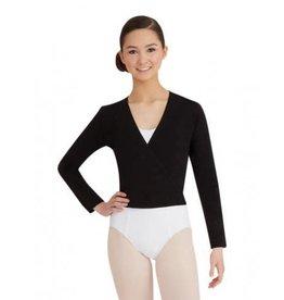 Capezio & Bunheads CC850-Cotton Wrap Sweater