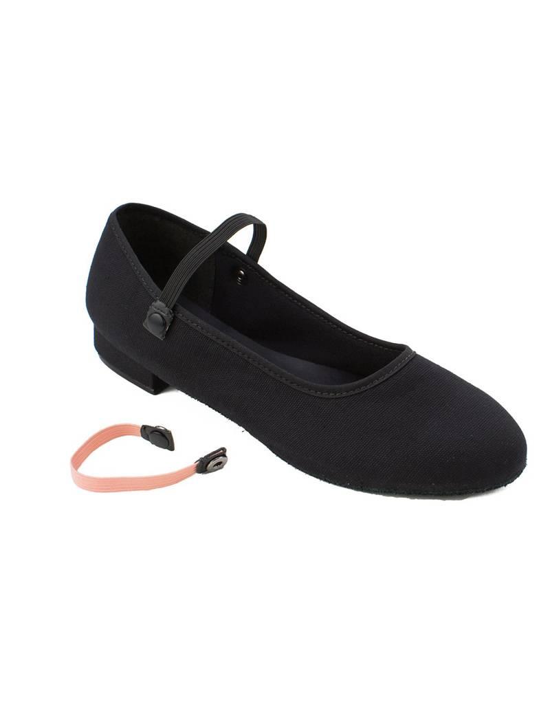 """So Danca So Danca RO01S:  Girls' Canvas 1"""" Heel Character Shoe"""