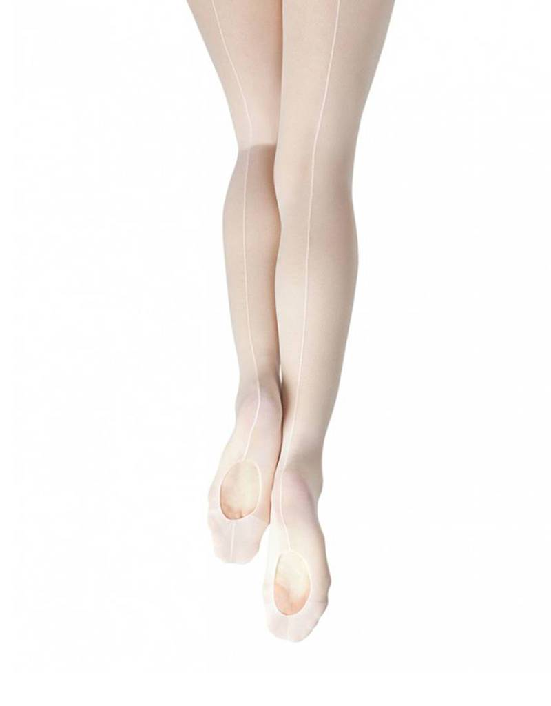 Capezio & Bunheads Capezio 19- Classic Mesh Transition Tight with Back Seam