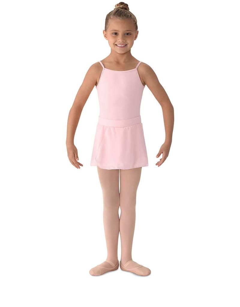 Bloch, Mirella Mirella MS12CH- Georgette Mock Wrap Skirt- Girls