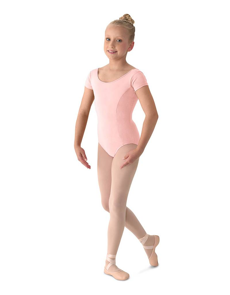 Bloch, Mirella Mirella M515C- Aspire! Classwear Girl's Cap Sleeve Leotard