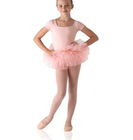 Tutu Skirted Short Sleeve Leotard