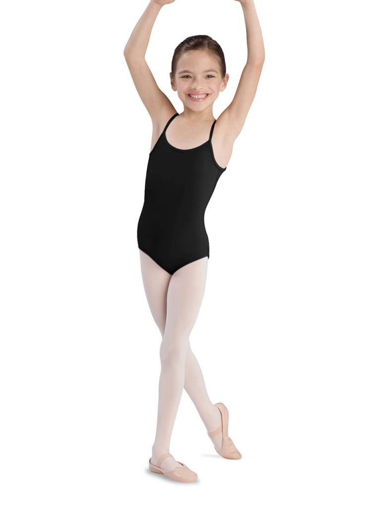 Bloch/Mirella CL5407: Bloch Plie Girls' Thin Strap Dance Leotard