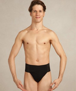 Capezio & Bunheads Quilted Cotton Panel Thong Dance Belt-N5930