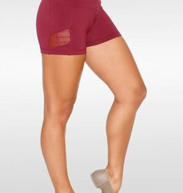 So Danca RDE1747- Shorts w/ lace inserts