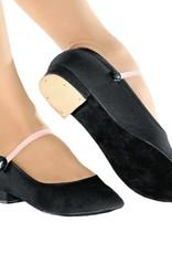 """So Danca RO01S:  Girls' Canvas 1"""" Heel Character Shoe"""