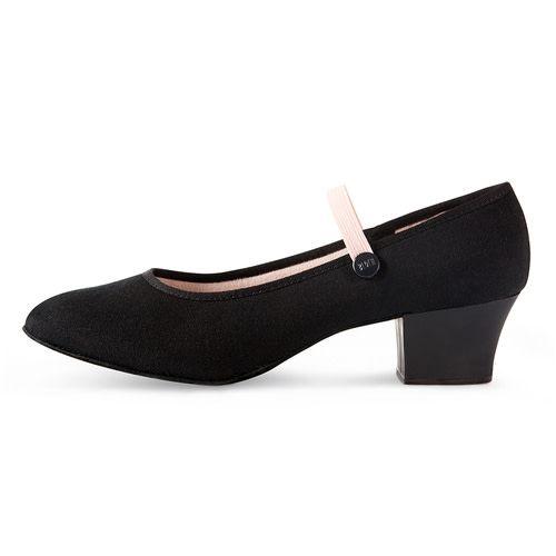 Bloch, Mirella S0326L/Tempo-Accent Canvas RAD Character Shoe